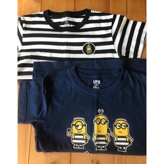 ユニクロ(UNIQLO)のUNIQLO ミニオンTシャツ(Tシャツ/カットソー)