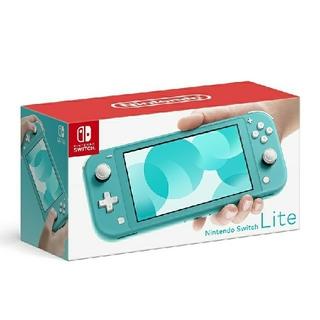 ニンテンドースイッチ(Nintendo Switch)の椛様専用 2台  Nintendo Switch lite ターコイズ&グレー(携帯用ゲーム機本体)