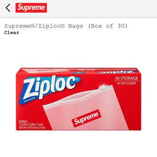 シュプリーム(Supreme)の【即購入可】Supreme Ziploc Bags (Box of 30) 新品(収納/キッチン雑貨)