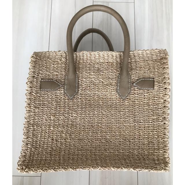 SEA(シー)の【ほぼ新品】SEA カゴバッグ  Mサイズ カゴバーキン レディースのバッグ(かごバッグ/ストローバッグ)の商品写真