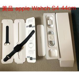 アップル(Apple)のApple Watch S4 44cm SpaceGray Aluminum美品(腕時計(デジタル))