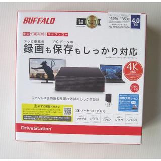Buffalo - 新品未開封】 バッファロー外付けHDD 4TB HD-NRLD4.0U3-BA