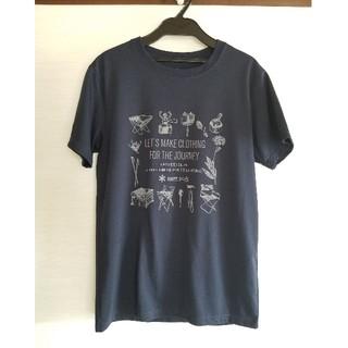 スノーピーク(Snow Peak)のはな様 Snow Peak Tシャツ サイズS ネイビー(Tシャツ/カットソー(半袖/袖なし))