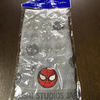 ユニバーサルスタジオジャパン(USJ)のユニバーサル スパイダーマン ミニタオル(タオル)