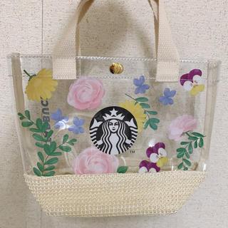 スターバックスコーヒー(Starbucks Coffee)のスターバックス ミニクリアバッグ(トートバッグ)