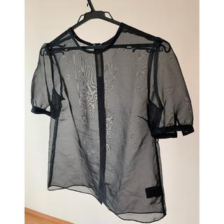 アウラアイラ(AULA AILA)のAULA AILA 今流行りのシースルートップス(Tシャツ(半袖/袖なし))