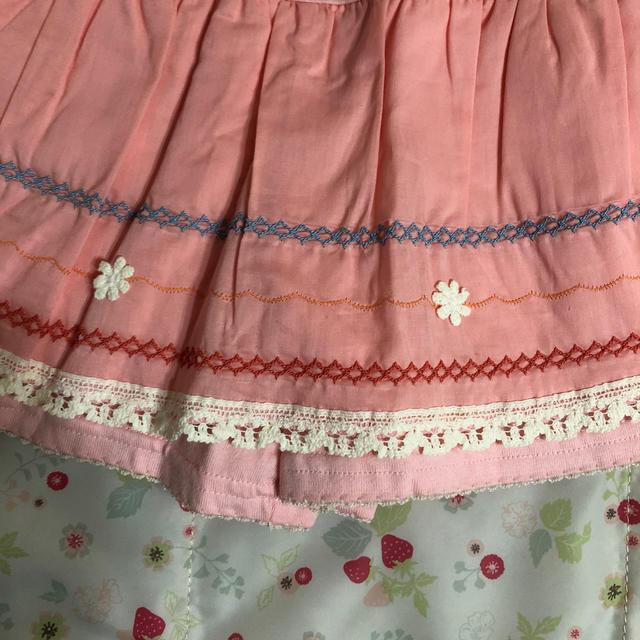 Souris(スーリー)の未使用  souris  キュロット  110 キッズ/ベビー/マタニティのキッズ服女の子用(90cm~)(パンツ/スパッツ)の商品写真