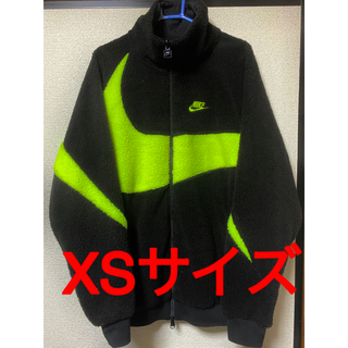 ナイキ(NIKE)の希少XS NIKE BIG SWOOSH BOA JACKET bolt(ブルゾン)