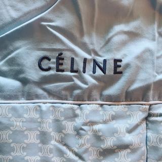 セリーヌ(celine)の新品未使用 セリーヌ CELINE 肌掛けふとん マカダム柄 ベージュ(布団)
