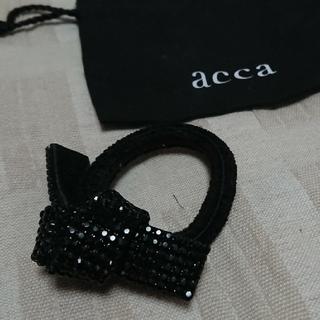 acca - acca ドレスポニー (黒)