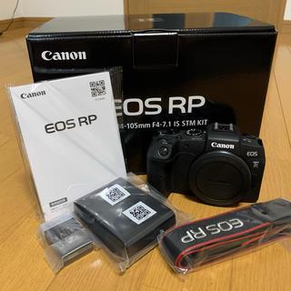 Canon - canon EOS RP ボディ ミラーレス一眼