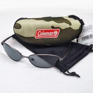 コールマン(Coleman)の新品 3点セット コールマン 偏光サングラス+ ハードケース + 収納ポーチ(サングラス/メガネ)