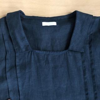 フォグリネンワーク(fog linen work)のオシャレ✳︎fog linen work. リネン100%ロングワンピース(ロングワンピース/マキシワンピース)