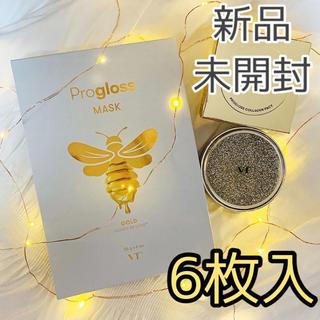 チャアンドパク(CNP)の【新品】VT プログロス シート フェイスマスク 6枚入 はちみつ(パック/フェイスマスク)