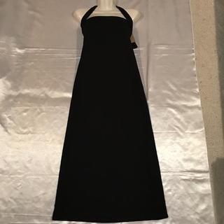 ◆2wayワンピース/ロングスカート◆新品タグ付き黒(ロングワンピース/マキシワンピース)