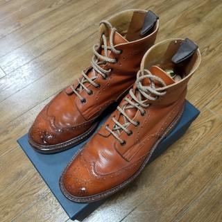 トリッカーズ(Trickers)のTricker's×SHIPS モールトン M2508 UK8(ブーツ)