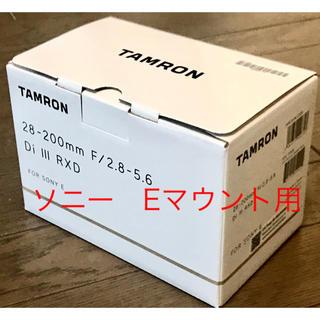 TAMRON - 新品未開封 タムロン 28-200mm F/2.8-5.6 Di III RXD