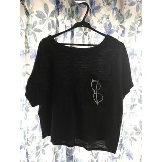 チュチュアンナ(tutuanna)の眼鏡Tシャツ ドルマリン(Tシャツ(半袖/袖なし))