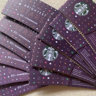 スターバックスコーヒー(Starbucks Coffee)の韓国スタバ BTSコラボスリーブ11枚(K-POP/アジア)