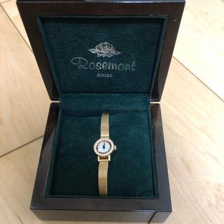 アガット(agete)のRosemont ゴールド腕時計(腕時計)