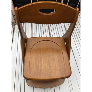 ニトリ(ニトリ)の天然木 学習椅子 調節可能 キャスター付 ニトリ(その他)