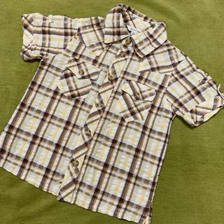 エニィファム(anyFAM)のany FAM チェックシャツ(Tシャツ/カットソー)