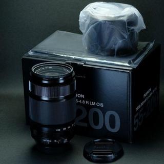 富士フイルム - 新品同様フジノンレンズ XF55-200mmF3.5-4.8 R LM OIS