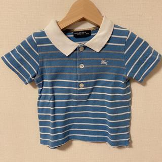 バーバリー(BURBERRY)の美品 バーバリー ポロシャツ マリンテイスト 80 半袖 Burberry(Tシャツ)