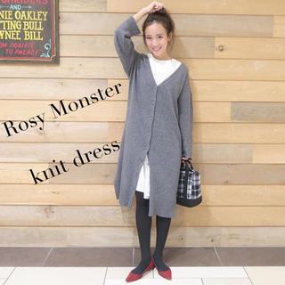 Chesty - Rosy Monster ロージーモンスター ニットワンピース カーディガン