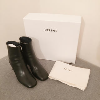 celine - 美品 セリーヌ バンバン ショートブーツ 35サイズ