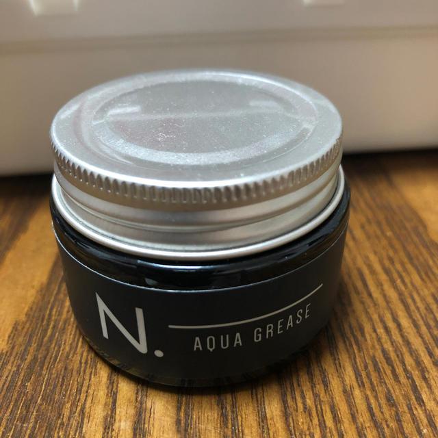 NAPUR(ナプラ)のナプラ エヌドット オム アクアグリース N. ヘア メンズ サロン コスメ/美容のヘアケア/スタイリング(ヘアワックス/ヘアクリーム)の商品写真