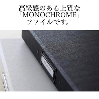 デジャヴュ(dejavu)のラドンナ LADONNA モノクローム MONOCHROME クリアーファイル(ファイル/バインダー)