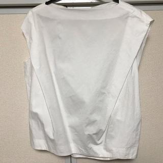 エンフォルド(ENFOLD)のエンフォルドブラウス白38(シャツ/ブラウス(半袖/袖なし))
