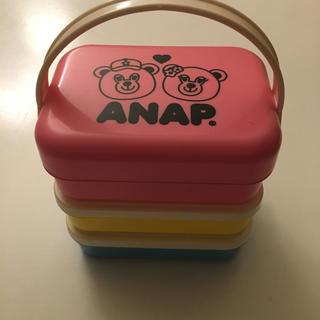 アナップ 3段お弁当箱