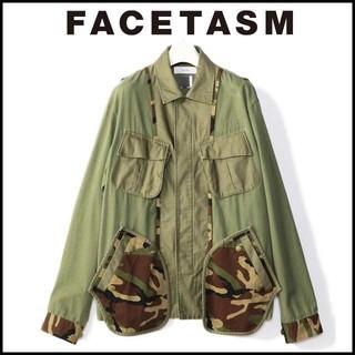 ファセッタズム(FACETASM)のFACETASM ファセッタズム CAMO MIX M-65 4(ミリタリージャケット)