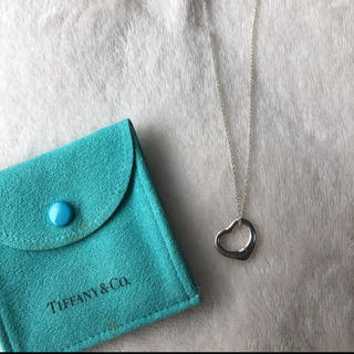 ティファニー(Tiffany & Co.)のティファニーTiffanyオープンハートネックレス(ネックレス)