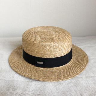 KANGOL - KANGOL◯Wheat Braid Boater◯カンカン帽◯麦わら