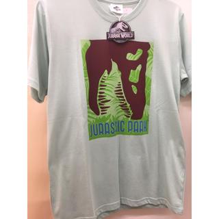 ユニバーサルスタジオジャパン(USJ)の新品 緑 ジュラシックパーク Tシャツ 半袖 ジュラシックワールド USJにも(Tシャツ/カットソー(半袖/袖なし))