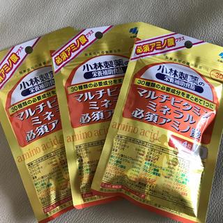 コバヤシセイヤク(小林製薬)の小林製薬 マルチビタミン・ミネラル・必須アミノ酸(30日分)×3袋(ビタミン)