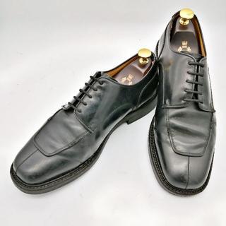 リーガル(REGAL)のREGAL リーガル 革靴 Uチップ 25.5㎝ 黒 外羽根式(ドレス/ビジネス)