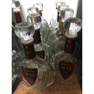 サントリー(サントリー)のサントリー ブランデー XO    デラックス 空瓶 1本 インテリア(ブランデー)