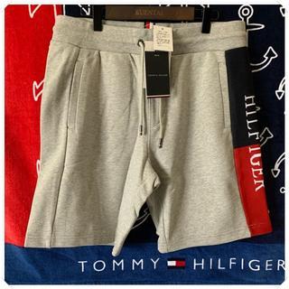 トミーヒルフィガー(TOMMY HILFIGER)の入手困難 スウェットショーツ ハーフパンツ グレー TOMMY HILFIGER(スウェット)