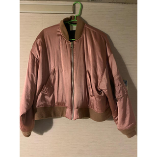 Balenciaga - neon sign SPANISH FLIGHT JACKET ピンク