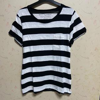 バックナンバー(BACK NUMBER)のBACK NUMBER ボーダーポケット付Tシャツ(Tシャツ(半袖/袖なし))