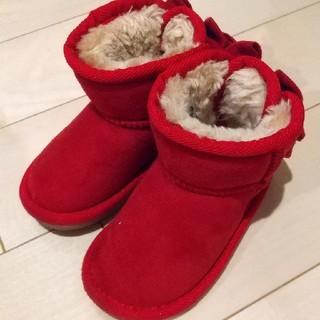 リボン付きブーツ 14cm(ブーツ)