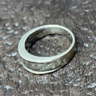 シルバー925 リング  シンプル 逆甲丸ピンキー レディース メンズ 銀 指輪(リング(指輪))