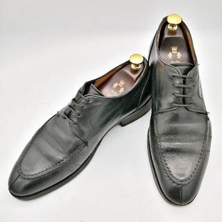 BUCCHUS バッカス 革靴 25.5㎝ 黒 外羽根式(ドレス/ビジネス)