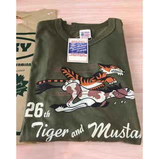 バズリクソンズ(Buzz Rickson's)の新品 バズリクソンズ ミリタリー  Tシャツ 虎 東洋テーラー リアルマッコイズ(Tシャツ/カットソー(半袖/袖なし))