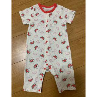 アカチャンホンポ(アカチャンホンポ)のパジャマ ロンパース 80(パジャマ)