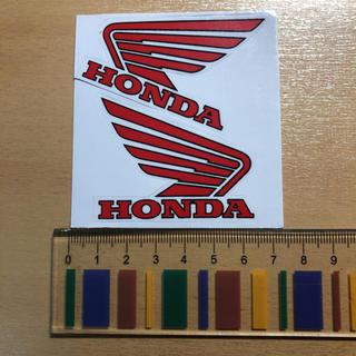 ホンダ(ホンダ)のホンダ HONDA ウィング wing ステッカー 2枚組(車外アクセサリ)